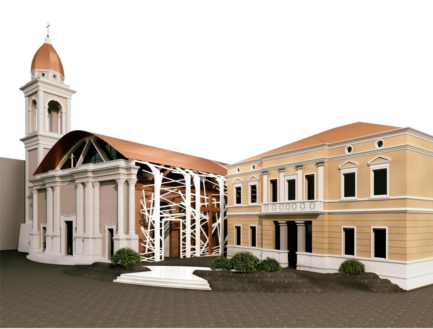 Concorso idee Chiesa - Capogruppo Arch Lorenzo Spinazzi_1500px